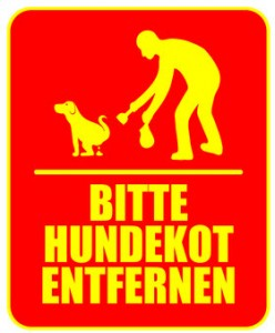 Bitte Hundekot entfernen