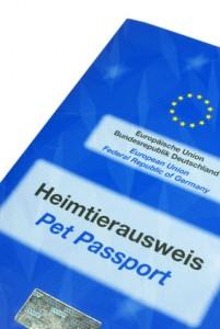 EU Heimtierausweis Dackel Reise