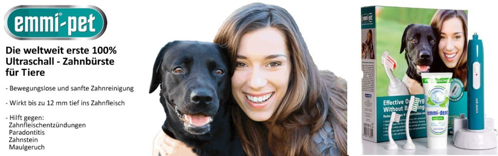Hundezahnbürste Emmi Pet